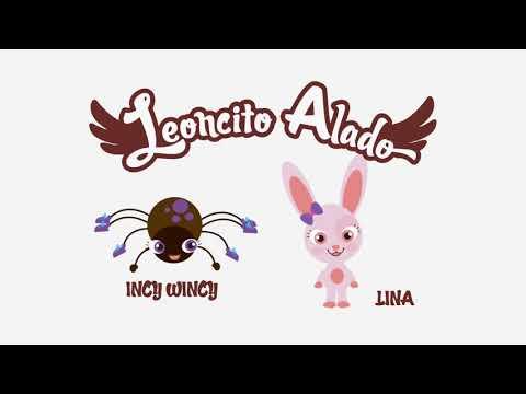 INCY WINCY ARAÑA ♫ Canciones Infantiles (Leoncito Alado)