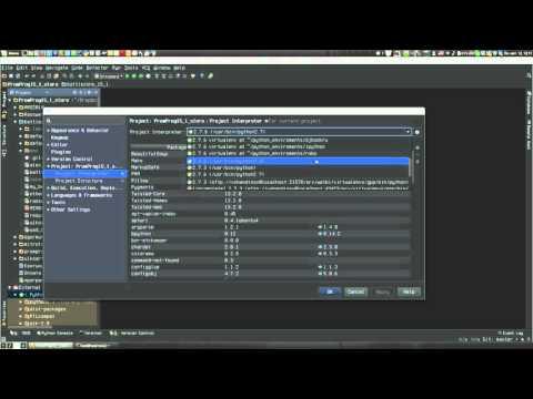 Как настроить интерпретатор проекта в PyCharm