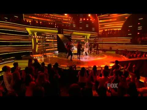 Jennifer Lopez feat. Pitbull - On the Floor (Live @ American Idol)