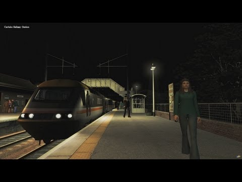 Railworks 3 [HD] Train Simulator 2012 / Night Run / Inter-city 125