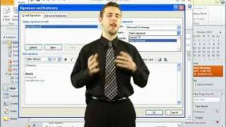 How to Create Email Signatures In Microsoft Outlook 2010 (Tutorials)