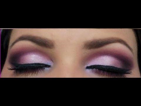 Maquiagem Lilás e roxa, Duo de sombras Koloss- Por Amanda Pereira
