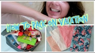 How To Pack On Vacation | Lady Domisha
