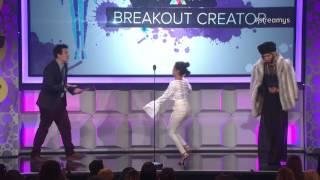 Liza Koshy Wins the INSTANT Breakout Creator Award - Streamy Awards 2016