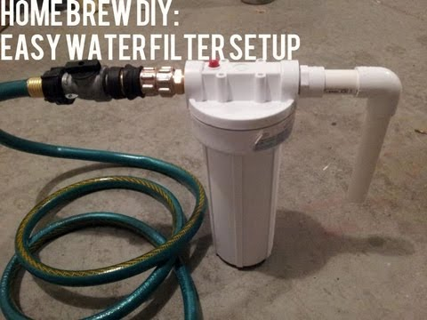 Homebrew Diy Easy Water Filter Setup Beer Geek Nation