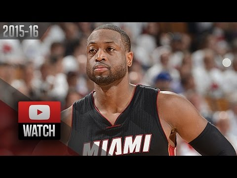 Dwyane Wade Full Highlights at Raptors 2016 ECSF G1 - 24 Pts, 6 Reb, TOO Good!