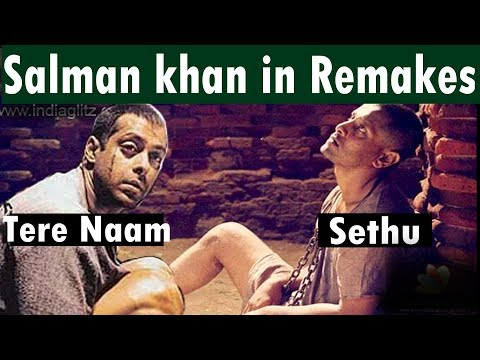 Salman Khan in Bollywood remake Movies