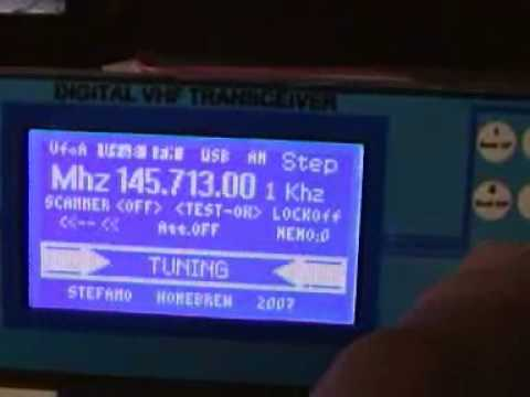 VHF RECEIVER DDS VFO