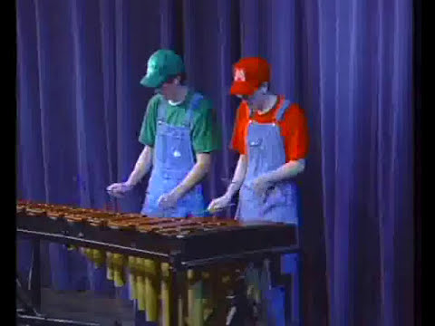 Mario Brothers Music on Marimba