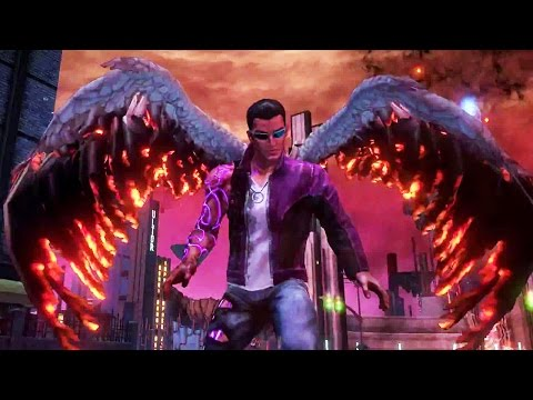 SAINTS ROW Gat out of Hell Trailer