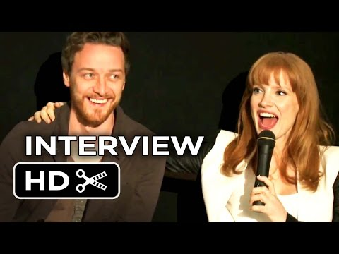 The Disappearance of Eleanor Rigby Interview - Q&A Session (2014) - Jessica Chastain Movie HD
