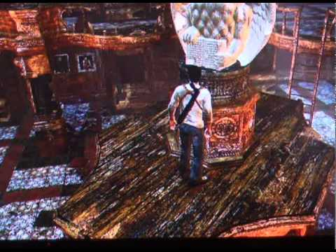 Uncharted pasando el puzzle de las estatuas for Uncharted 3 mural puzzle