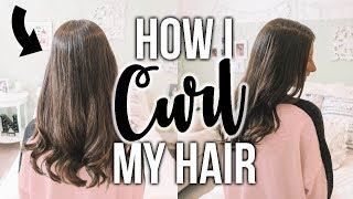 How I CURL My Hair!!