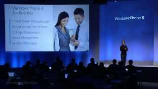 Windows Phone 8 -- For Business