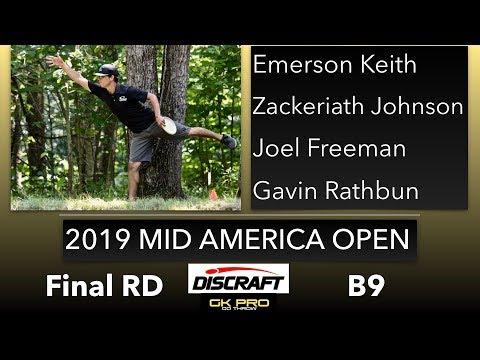 2019 Mid America Open | Final RD, B9, MPO | Keith, Johnson, Freeman, Rathbun