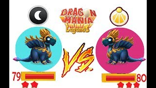 HYPNOS DRAGON (Star 2 Lv 79)vs HYPNOS DRAGON (Star 3 Lv 80)  - WHO'S BETTER?! - DRAGON MANIA LEGENDS