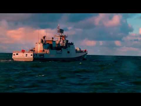 017 Завершаются испытания СКР Адмирал Макаров пр.11356Р