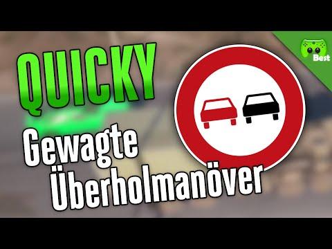 GEWAGTE ÜBERHOLMANÖVER 🎮 Quicky #131   Best of PietSmiet