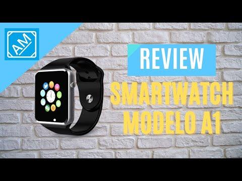 Review do SmartWatch: Modelo A1