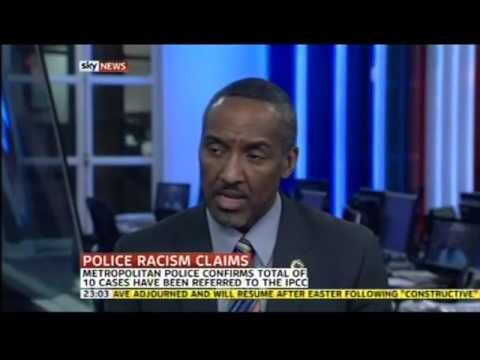 London's Met Police racism allegations in crisis (2012) (Sky News coverage)