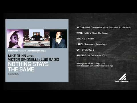 Mike Dunn meets Victor Simonelli & Luis Radio - Nothing Stays The Same (F.E.X. Remix)