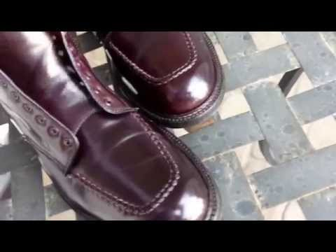 Alden Shell Cordovan Indy Boots Color 8 11D