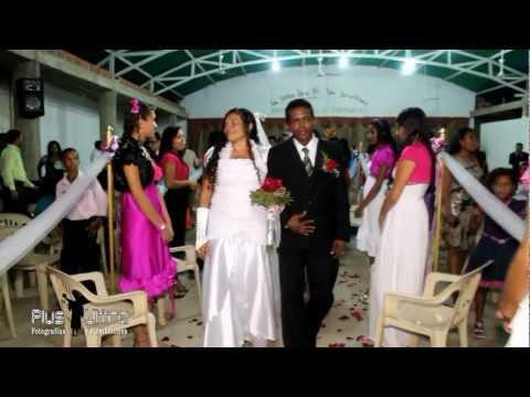 boda pentecostal, un señor, una fé, un bautismo, 4ª congregación.
