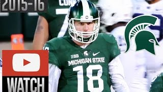 Connor Cook highlights Penn State vs Michigan State 2015