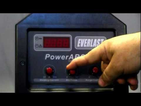 PowerArc 300 Stick Welder Part 1 - Inverter Stick (SMAW) Arc  Welder - Everlast Welding
