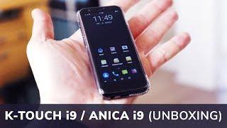 K-TOUCH i9 / ANICA i9 - Mini Smartphone (Unboxing) | Techupdate
