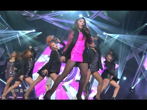 Ailee - I will show you, 에일리 - 보여줄게, Music Core 20121117
