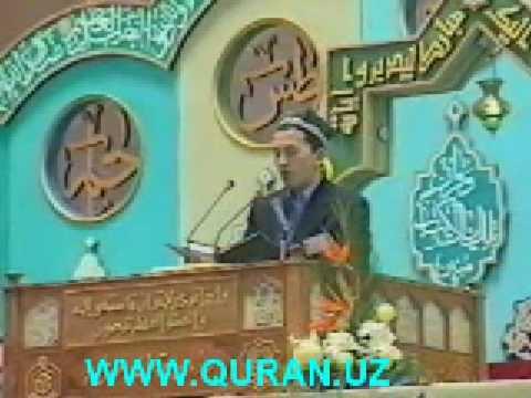 Uzbek in Qur'an competition Patr-2