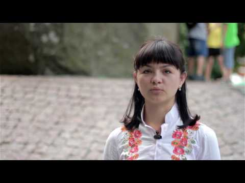 """Слово, що єднає Україну   Вірш житомирянки Марії Зіновчук у виконанні """"свободівців"""""""