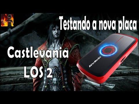 Teste com Castlevania LOS 2