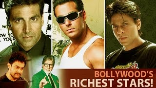 Richest Bollywood Actors | Stars Gossip | Richest Stars News