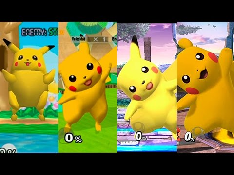 Super Smash Bros Wii U | Pikachu Evolution