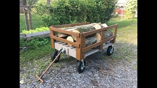 DIY Pallet Wagon