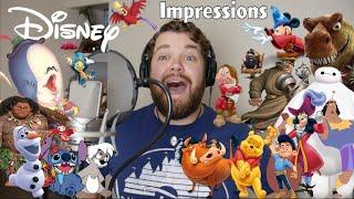 Impressions from Every Walt Disney Animated Studios Feature Film Ever!!
