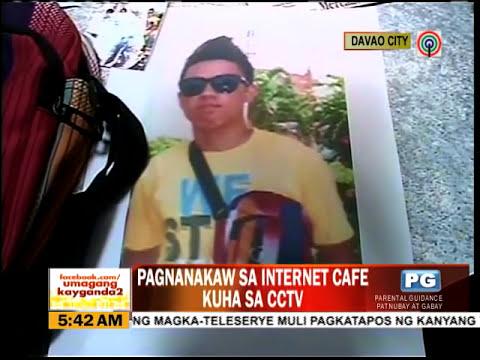 Magnanakaw sa Internet cafe naiwan ang wallet