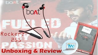 Unboxing & Review Boat Rockerz 255 | Best budget sports Bluetooth Headset