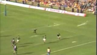 Ray Mordt's Hat-Trick vs All Blacks in 1981