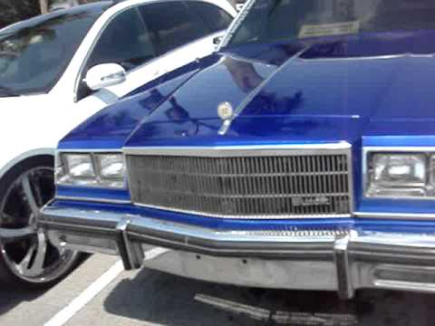 "1985 BUICK LESABRE ON 28"" RIMS -FOR SALE $8500"