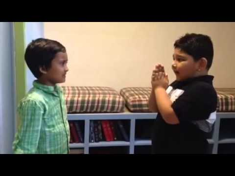 Nepali kids funny video