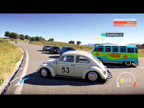 Spitão vs. Stereo | Herbie x Máquina Mistério! | Forza Horizon 2 [PT-BR]