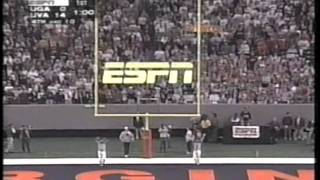 Virginia Vs Georgia 1995 Peach Bowl