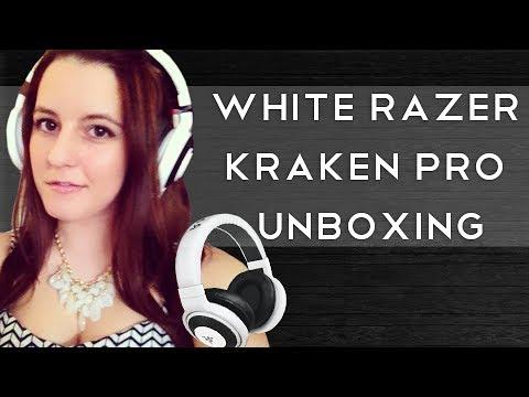 White Razer Kraken Pro Unboxing - rxysurfchic