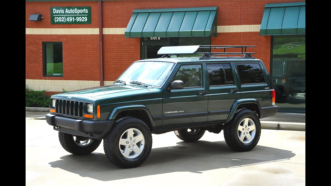 davis autosports lifted jeep cherokee for sale xj youtube. Black Bedroom Furniture Sets. Home Design Ideas