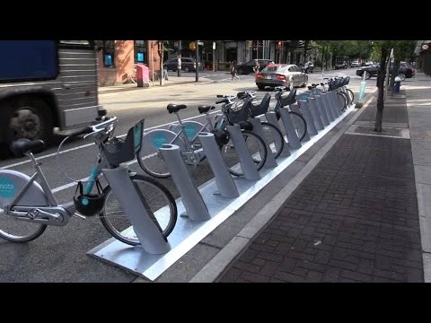 """Vancouver Mayor's """"radical pro-cycling agenda"""" fulfilled with bike share launch"""