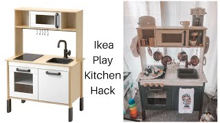 IKEA PLAY KITCHEN HACK | PHOEBES CHRISTMAS PRESENT | EMILY LADD