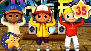 How To Dance Head Shoulders Knees And Toes | Fun Learning with LittleBabyBum | NurseryRhymes